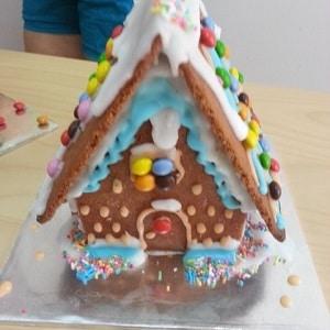 Gingerbread House Buliding