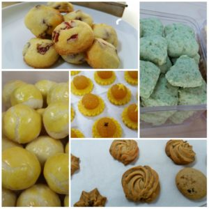 Chinese New Year Eggless Cookies