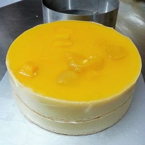 Mango Mousse Cake Baking Class