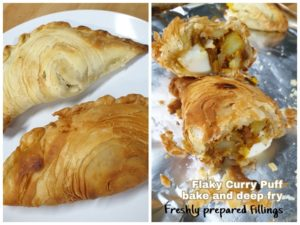 Flaky Curry Puff