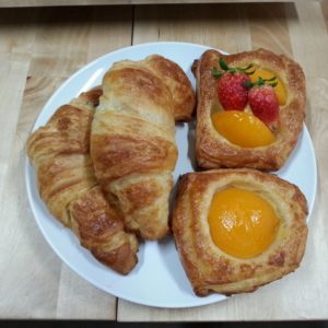 Danish and Croissant