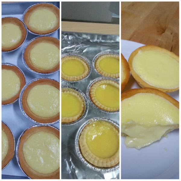 HK Egg Tarts & JPN Lava Cheese Tart