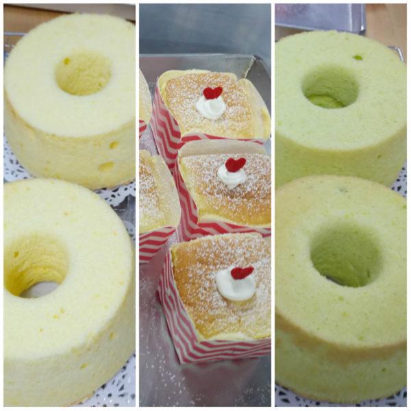 chiffon cake Hokkaido Cake
