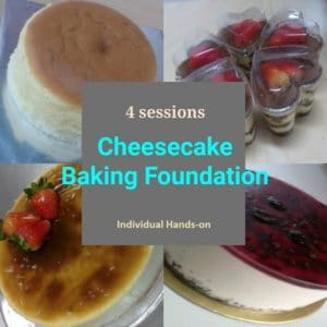 Cheesecakes baking foundation