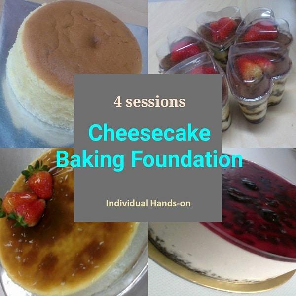 Cheesecakes baking foundation