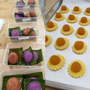 Ang Ku Kueh and Pineapple Tart